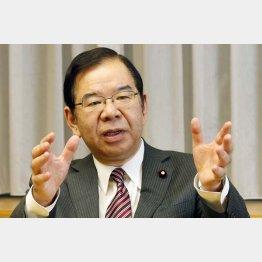 野党共闘を呼び掛ける志位和夫・共産党書記長(C)日刊ゲンダイ