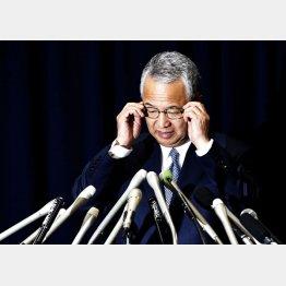 甘利大臣は辞任を表明したが(C)日刊ゲンダイ