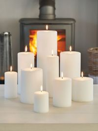 Pillar Candles | Scandi Style | Nordic House