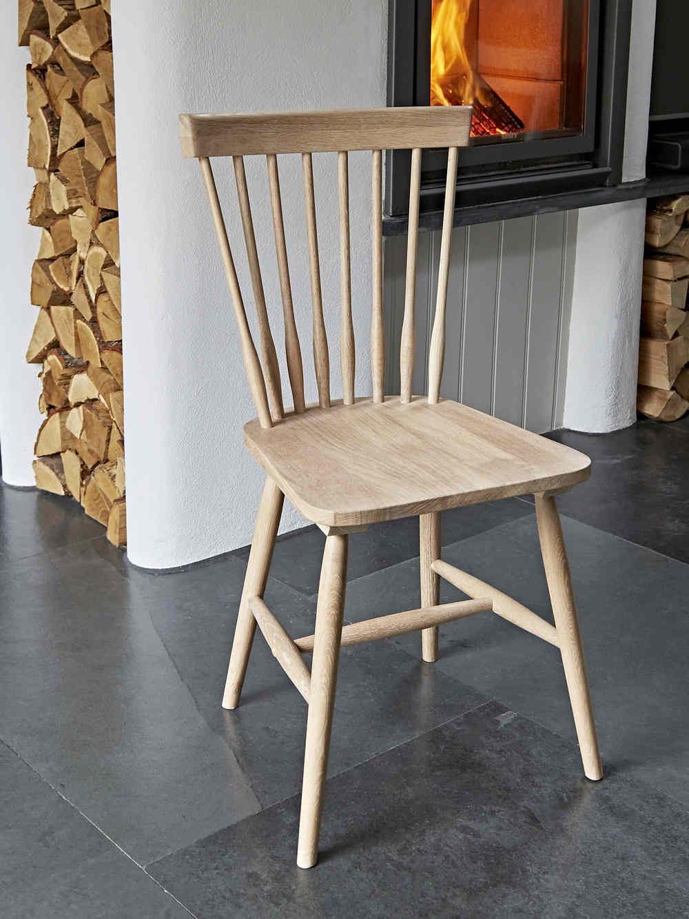 At Home Chairs Blom Dining Chair Oak