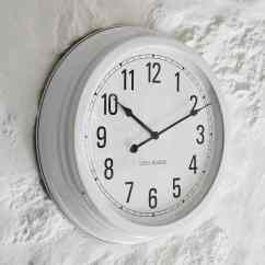 Kitchen Wall Clocks Grey Table White Clock Nordic House