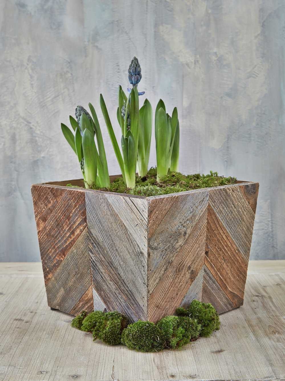 Reclaimed Wood Planter  Wood Planter Box  Nordic House