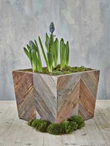 Reclaimed Wood Planter Box Nordic House