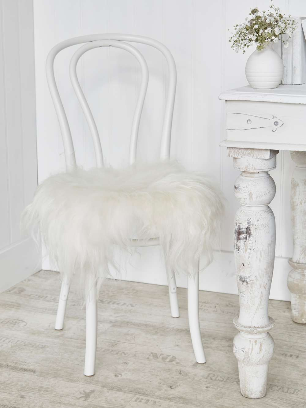 christmas dining chair covers uk childrens table and chairs wooden icelandic sheepskin seat cover - off white