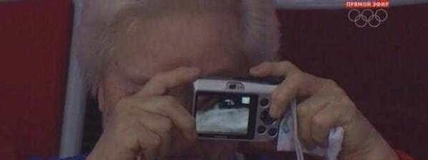 Selfie acidental é sucesso na internet