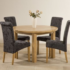 Navy Blue Dining Chairs Set Of 2 Round Table With 6 5ft 3 Quot Solid Oak Extending 43 4 Scroll