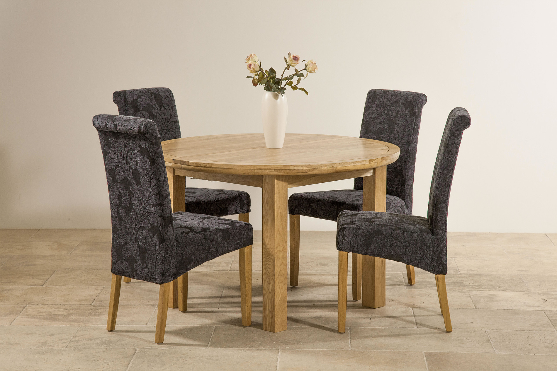 Navy Blue Dining Chairs 5ft 3 Quot Solid Oak Round Extending Dining Table 43 4 Scroll
