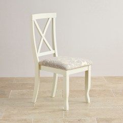 Grey Fabric Oak Dining Chairs Cushions For Teak Steamer Bella Brushed And Painted Patterned