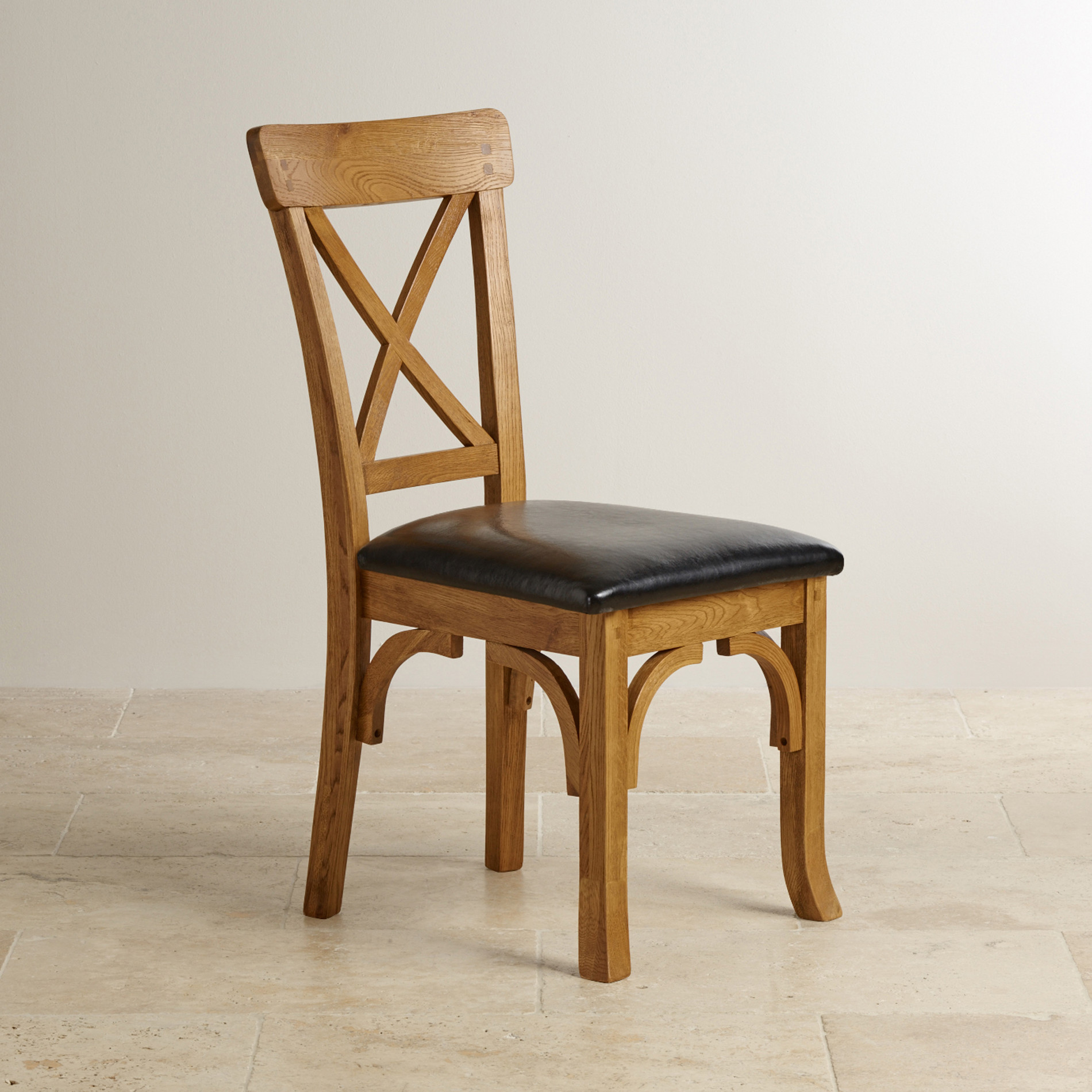 rustic dining chairs uk desk chair throw taunton solid oak black leather