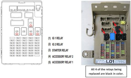 small resolution of  very important to prevent damage to the f b itself or the relay connections inside it the f b must be removed from the vehicle and allowed to stabilize