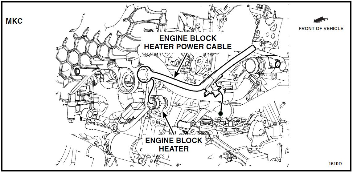 16S14 – Engine Block Heater Replacement