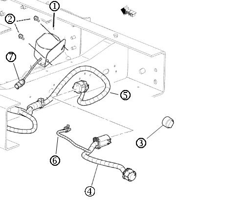 15182 – Backup Alarm Not Installed On Vehicle