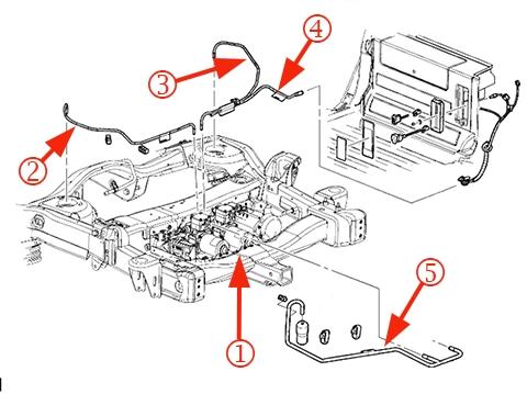 Rear Air Suspension Compressor Service Part Change