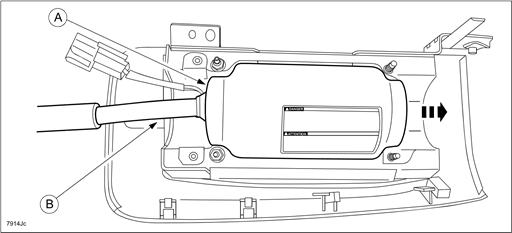 8315F – Passenger Air Bag Inflator Replacement