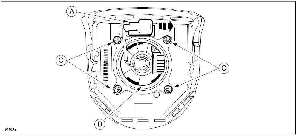 9116A – Driver Frontal Air Bag Inflator