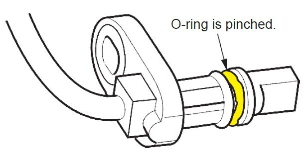 Safety Recall: Rear ABS Wheel Speed Sensor and O-Ring