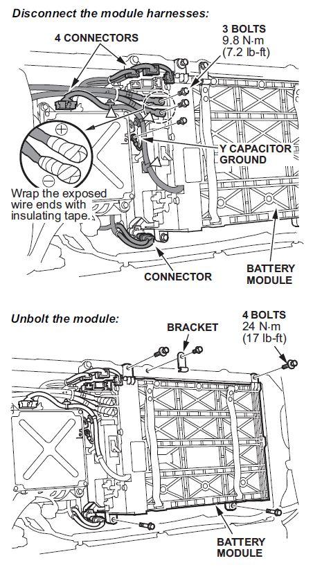2008 Honda Civic Hybrid Engine Diagram : Honda Civic