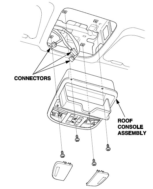 Roof Console Assembly Rattles While Driving