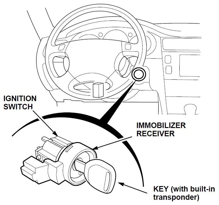 Information About the Immobilizer System