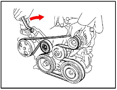 Accessory Drive Belt/Belt Tensioner Assembly Noise