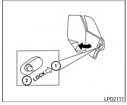 PC675 – Rear Door Latch/Lock Cable Routing
