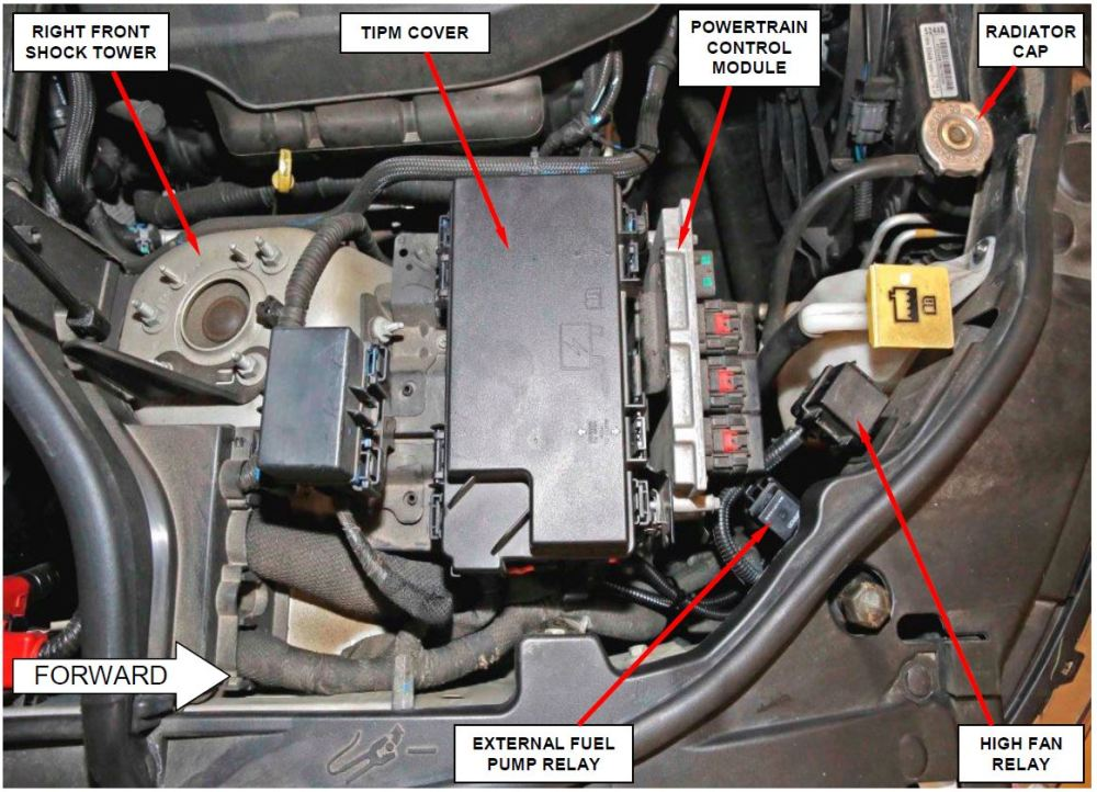 medium resolution of inspect for external fuel pump relay