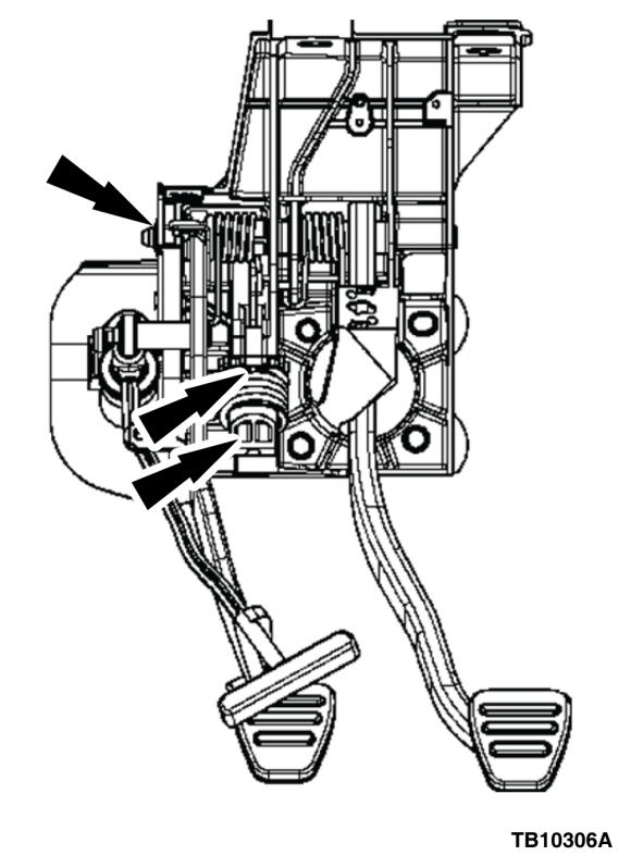Squeak or Creak Noise from Clutch Pedal