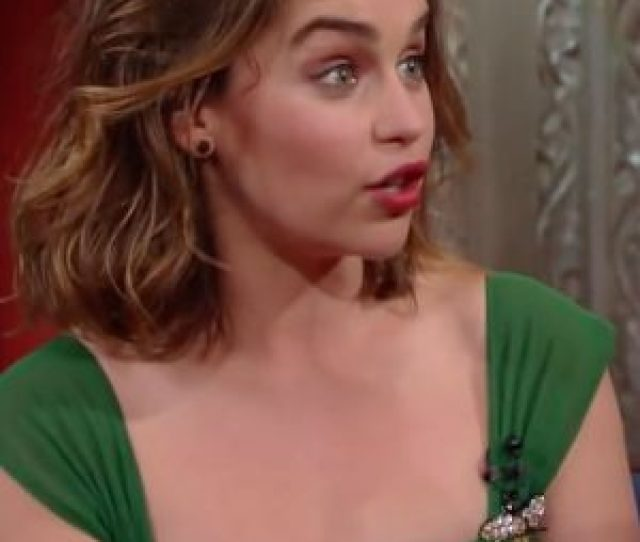 Watch Emilia Clarke Admit That Her Game Of Thrones Nude Scenes Are Empowering Ok Magazine