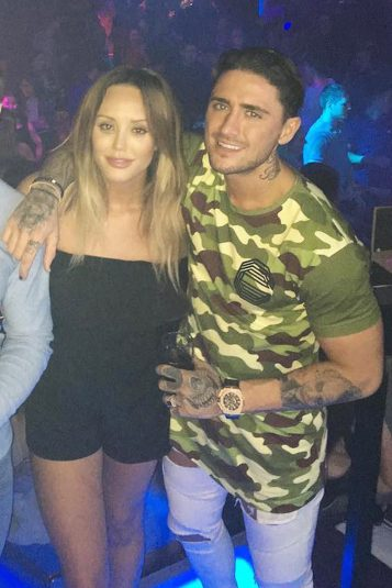Stephen Bear and Charlotte Crosby dating pre New Year party Electric Ballroom
