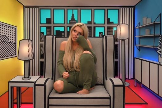 Celebrity Big Brother 2017 spoiler pictures Nicola Mclean cries Diary Room