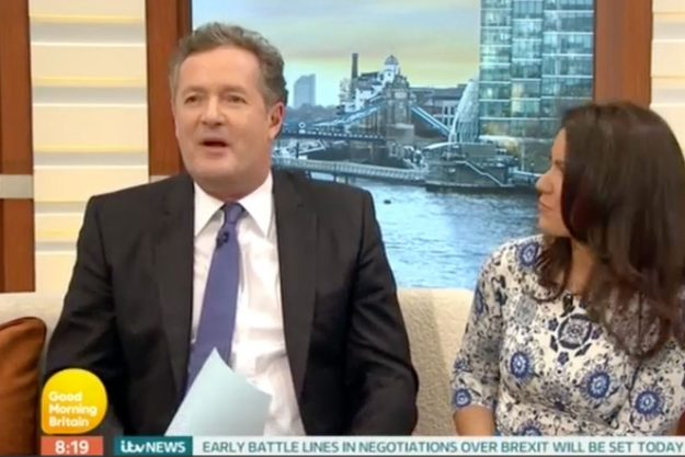 Good Morning Britain: Piers Morgan has an epic MELTDOWN over curry live on air as he loses his ...