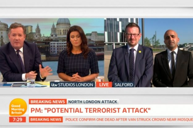 Good Morning Britain: Piers Morgan became ENRAGED over the comments