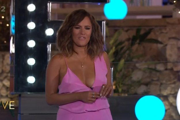 Love Island: Caroline Flack entered the villa to host the grand finale of the show on Monday night