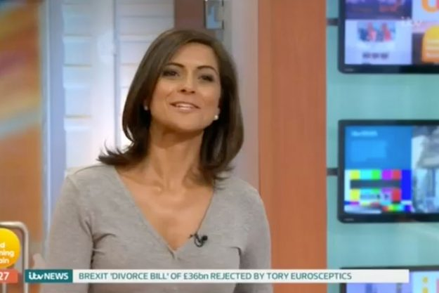 Good Morning Britain: Kate Garraway accuses Jeremy Kyle of FLIRTING with weather girl Lucy Verasamy on his first day on the job