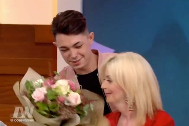 Transgender Lauren Harries' toyboy boyfriend Connor Yemm shocks with his appearance on Loose Women: