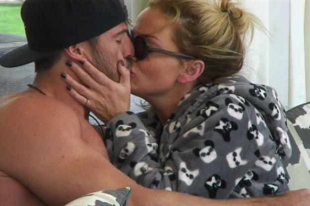 Chad and Sarah kiss and make up on CBB