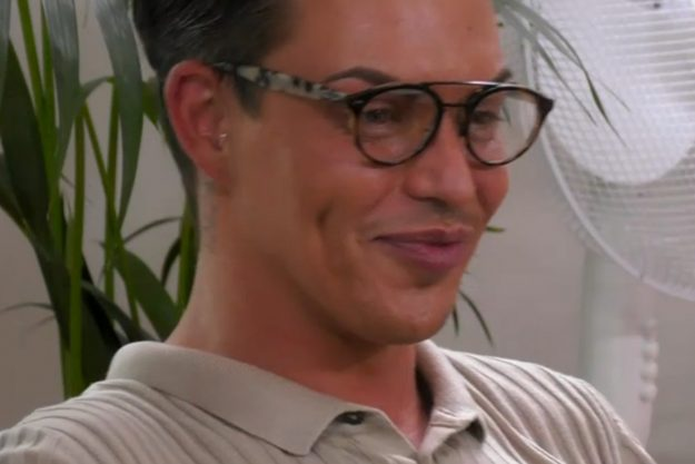 Bobby Norris flirted with receptionist Tom in Thursday night's episode