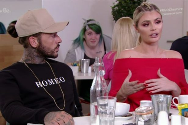 Pete Wicks and Chloe Sims