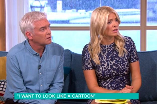 This Morning: Viewers lash out at plastic surgery addict Pixee Fox as she SNAPS at Holly Willoughby