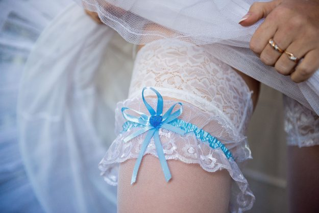 Why Do You Wear A Garter On Your Wedding Day?