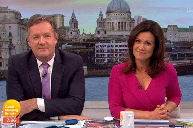 Good Morning Britain: Piers tried to defend himself as he said he was caught by surprise