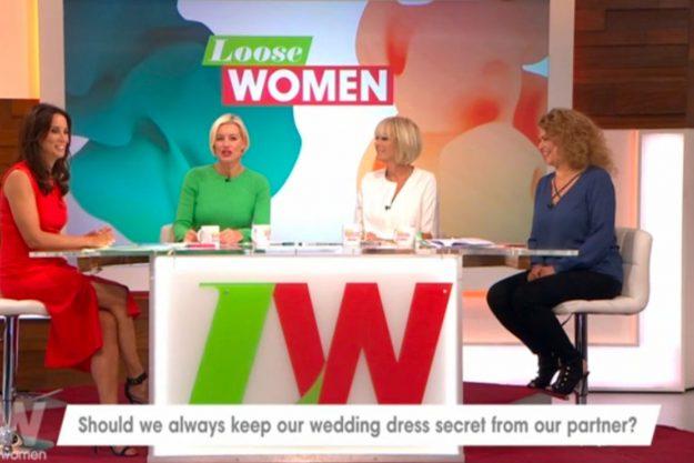 Loose Women panellists were talking about wedding dresses