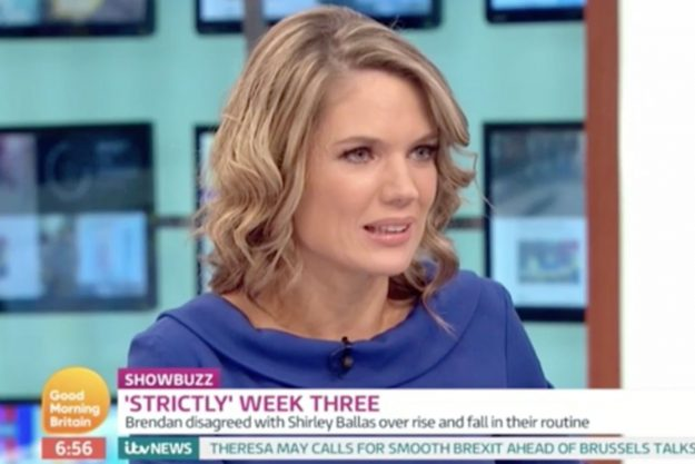 Good Morning Britain: Charlotte Hawkins spoke out after Brendan Cole's spat with Shirley Ballas