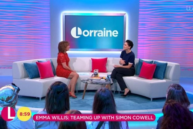"""Big Brother: Appearing on Lorraine, Emma admitted she thinks the idea would be """"amazing"""""""
