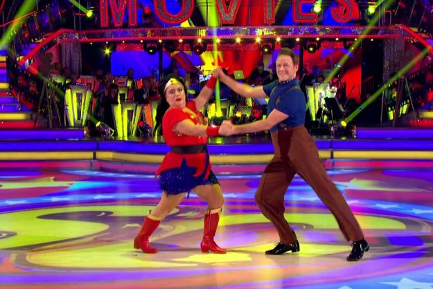 Susan Calman on Strictly Come Dancing