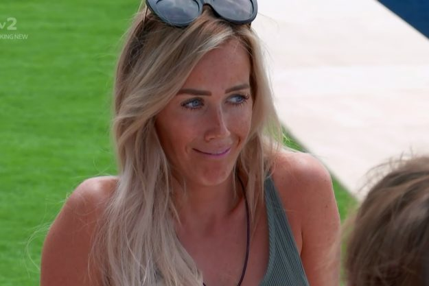 Wes tries to apologies to Laura but she does not accept on 'Love Island'. Broadcast on ITV2    Featuring: Laura Anderson  When: 27 Jun 2018  Credit: Supplied by WENN    **WENN does not claim any ownership including but not limited to Copyright, License in attached material. Fees charged by WENN are for WENN's services only, do not, nor are they intended to, convey to the user any ownership of Copyright, License in material. By publishing this material you expressly agree to indemnify, to hold WENN, it