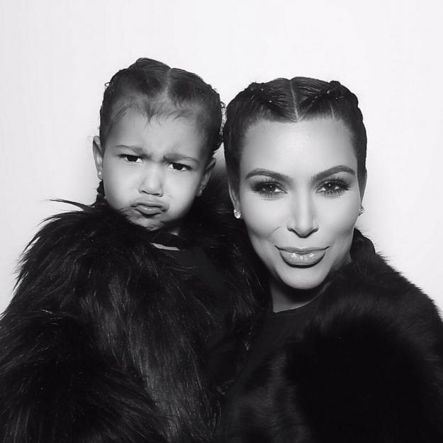 Khloe Kardashian shared this gorgeous snap of sister Kim