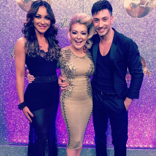 Luba Mushtuk performed with Giovanni on Strictly for a special dance while Sheridan Smith sang