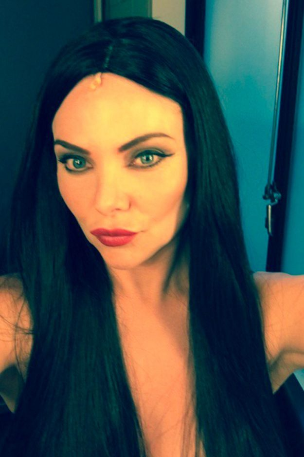 Samantha Womack as Morticia Addams in The Addams Family