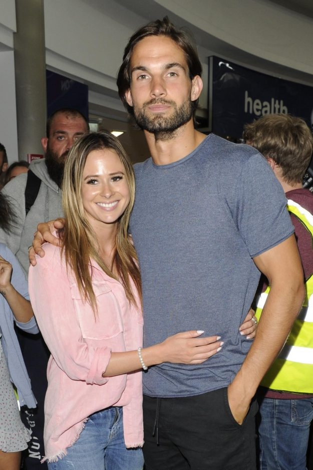 Camilla Thurlow and Jamie Jewitt from the Love Island